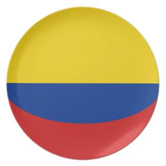 Colombia Fisheye Flag Plate