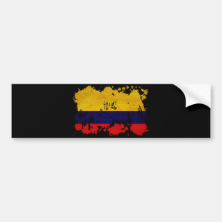 Colombia Flag Bumper Stickers