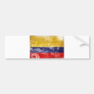 Colombia Flag Bumper Sticker