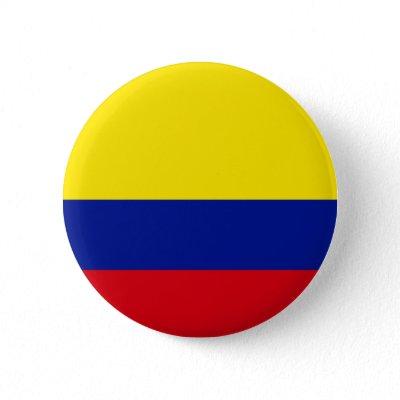Bandera de Colombia Boton por