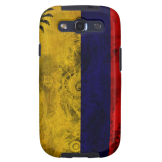 Colombia Flag Galaxy SIII Covers