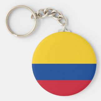 Colombia flag CO Keychain