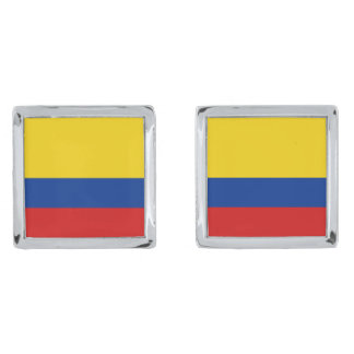 Colombia Flag Cufflinks