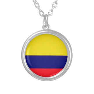 Colombia flag custom jewelry