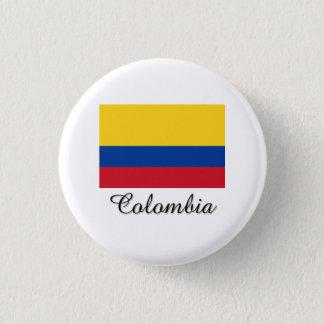 Colombia Flag Design Button