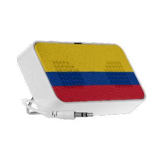 Colombia Flag Doodle Mini Speaker