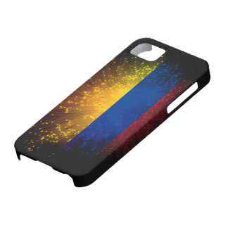 Colombia Flag Firework iPhone SE/5/5s Case