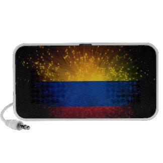 Colombia Flag Firework Speaker