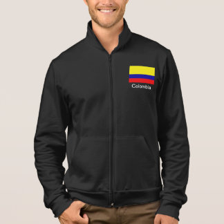 Colombia flag Fleece jogger Jacket