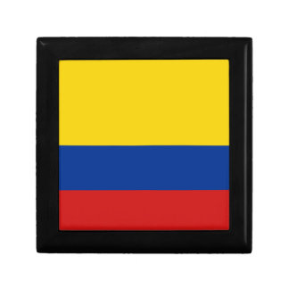 Colombia Flag Gift Box