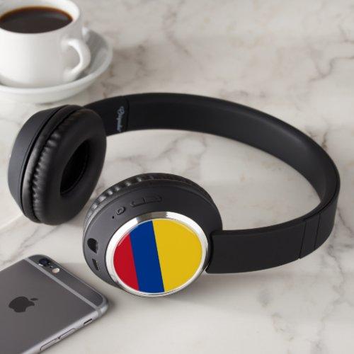 Colombia Flag Headphones