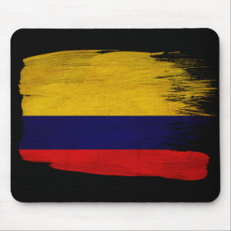 Colombia Flag Mouse Pad