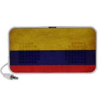 Colombia Flag Portable Speaker