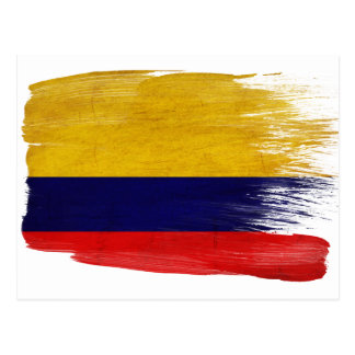 Colombia Flag Postcards