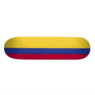Colombia Flag Custom Skate Board