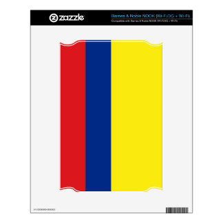 Colombia Flag Decal For NOOK