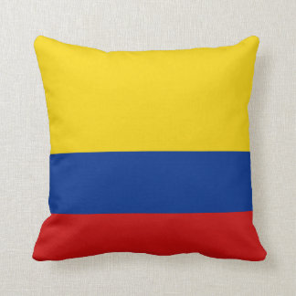 Colombia Flag x Flag Pillow