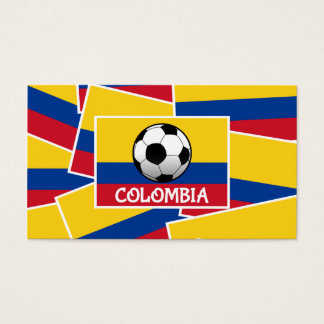 Colombia Football Business Card