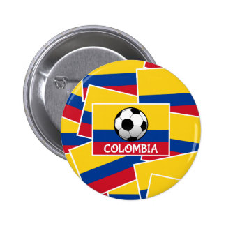 Colombia Football Button