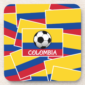 Colombia Football Drink Coaster