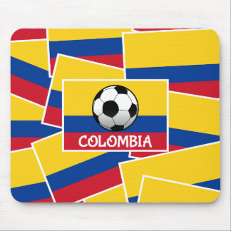 Colombia Football Mouse Pad