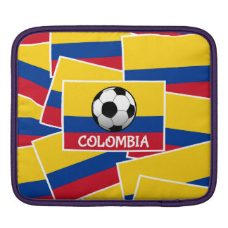 Colombia Football Sleeve For iPads