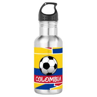 Colombia Football Water Bottle