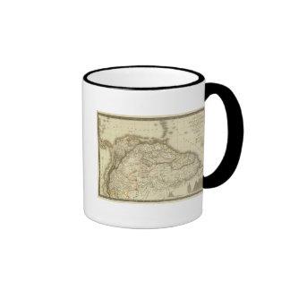 Colombia, French Guiana Ringer Mug