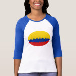 Colombia Gnarly Flag T-Shirt