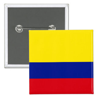Colombia High quality Flag Button