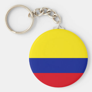 Colombia High quality Flag Keychain