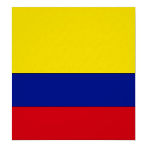 Colombia High quality Flag Posters