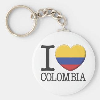 Colombia Keychain