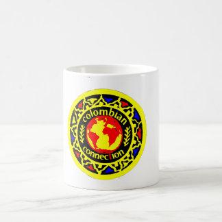 Colombia logo in colors coffee mug