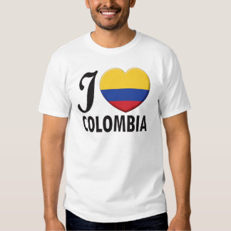Colombia Love T Shirt