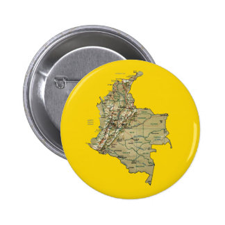Colombia Map Button