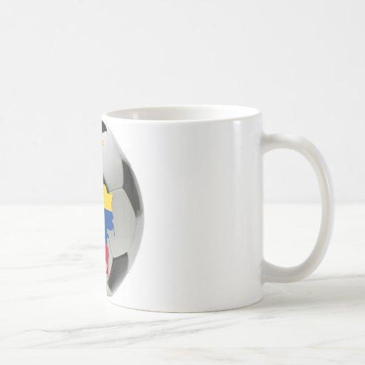 Colombia national team coffee mugs