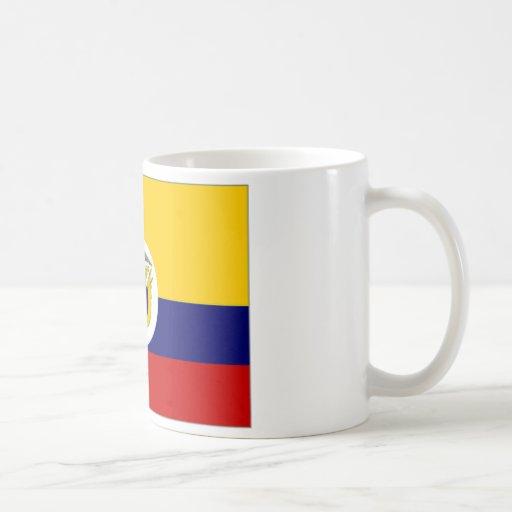 Colombia Naval Ensign Flag Mug