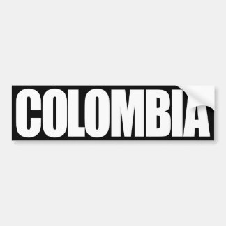 Colombia Pegatina Para Auto