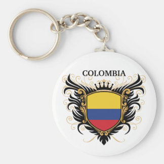 Colombia [personalize] key chain