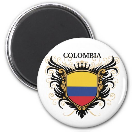 Colombia [personalize] magnets