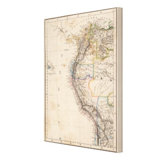 Colombia, Peru Canvas Print