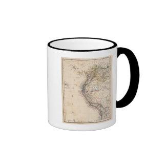 Colombia, Peru Ringer Mug