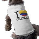 Colombia Playera Sin Mangas Para Perro