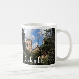 Colombia-Plaza Bolivar-Medellin-Iglesia Coffee Mug
