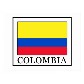 Colombia Postcard