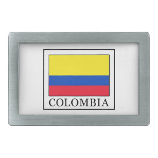 Colombia Rectangular Belt Buckle