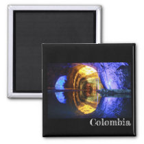 Colombia Salt Mines Fridge Magnet
