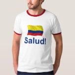 ¡Colombia Salud! Playeras