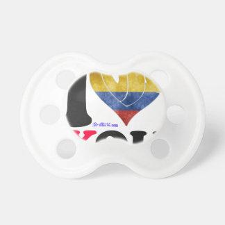 COLOMBIA SEÑALA TE AMO PRODUCTOS POR MEDIO DE CHUPETES PARA BEBÉS